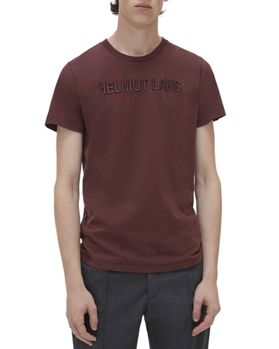 Men's Raised Embroidery T-Shirt