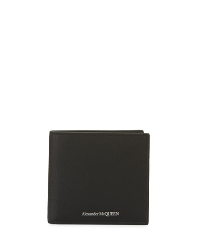 Men's Core Logo Leather Wallet