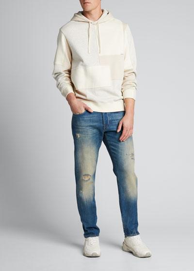 Men's Tapered Straight-Leg Gate Jeans