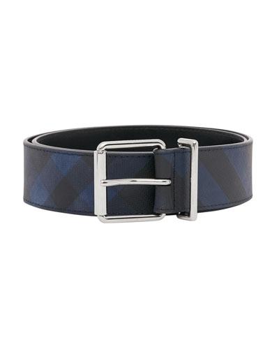 Men's Mack London Check Belt