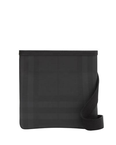 Men's Jax Tonal Check Crossbody Bag
