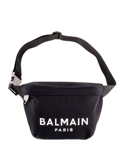 Men's Nylon Logo Belt Bag