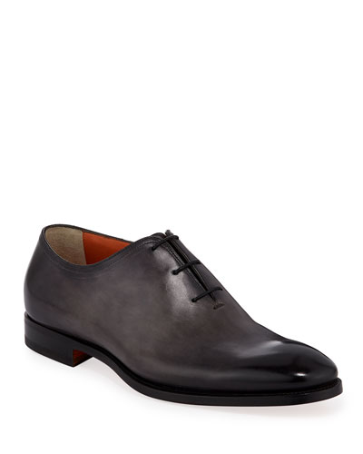 Men's Lawrence One-Piece Leather Dress Shoes