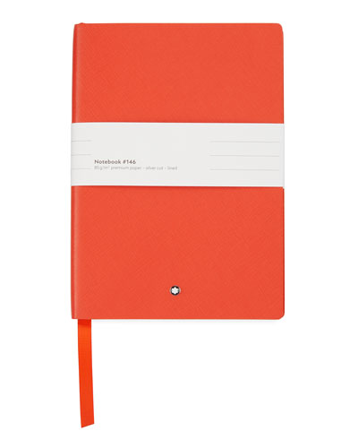 Notebook #146 with Saffiano Leather Cover