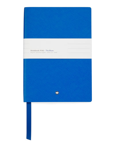 Men's 146 Palettes Electric Saffiano Leather Notebook