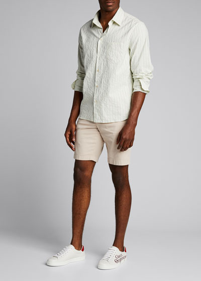 Men's Vintage Stripe Sport Shirt
