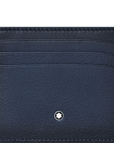 Men's Meisterstuck Sfumato Leather Card Case