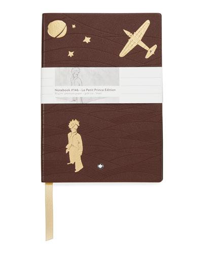 Men's 146 Petit Prince Aviator Leather Notebook