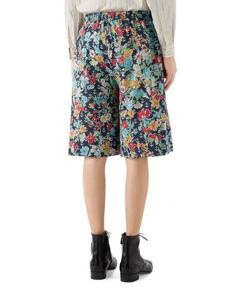 Men's Hawaiian Anchor Cotton Shorts