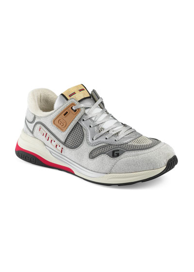 Men's Ultrapace Vintage Mixed-Media Sneakers