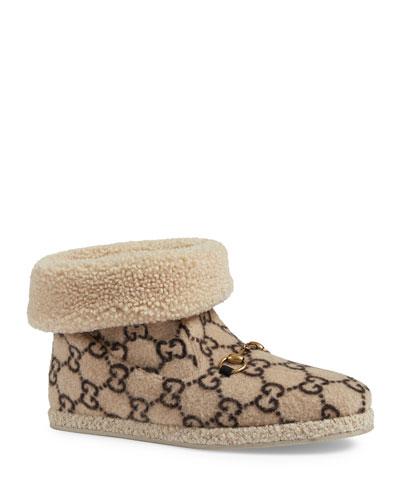Men's Fria GG Wool Slippers