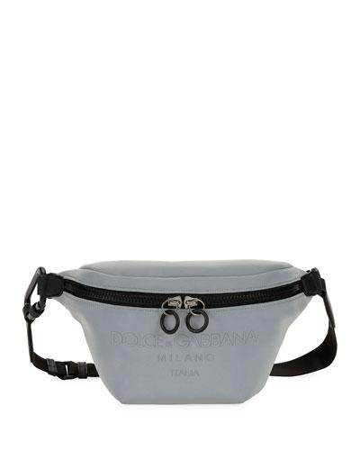 Men's DNA Logo Canvas Belt Bag/Fanny Pack