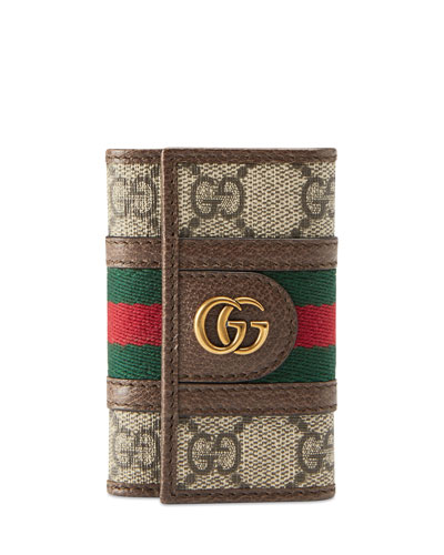 Men's GG Supreme Marmont Flap Wallet
