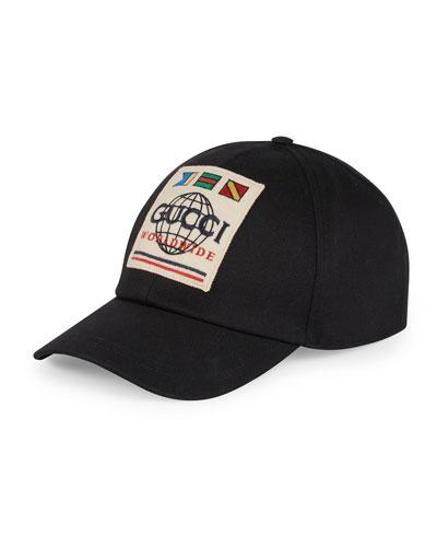 Men's International Logo Baseball Hat