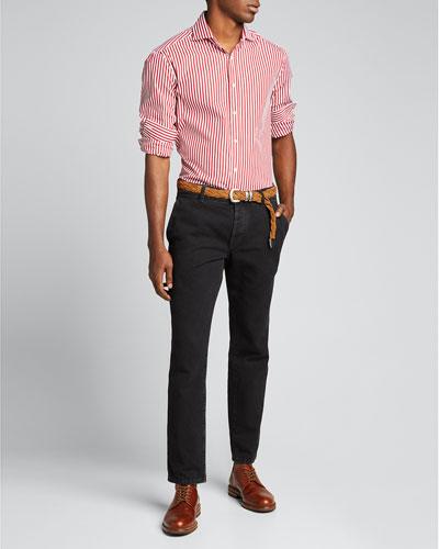 Men's Bengal Stripe Sport Shirt