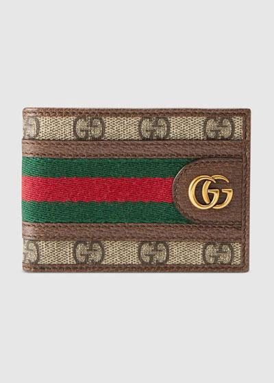 Men's GG Supreme Marmont Bifold Wallet