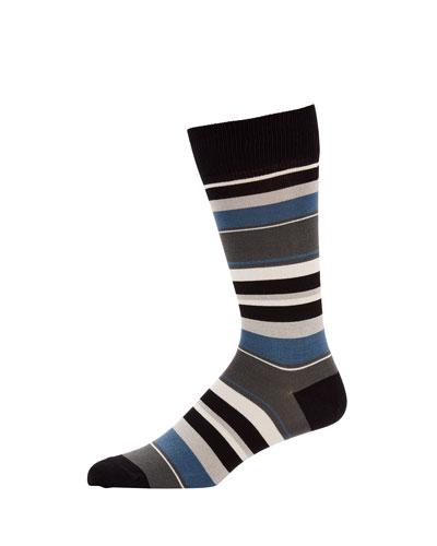 Men's Ravioli Striped Socks