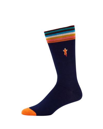 Men's Bespoke Graphic Socks