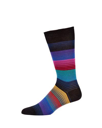 Men's Lenzo Stripes Socks