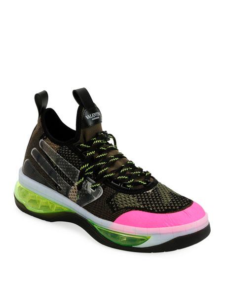 Men's V-Cloud Colorblock Sock Sneakers