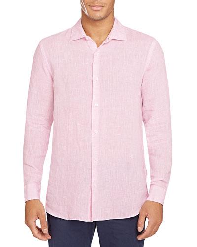 Men's Giles Linen Sport Shirt