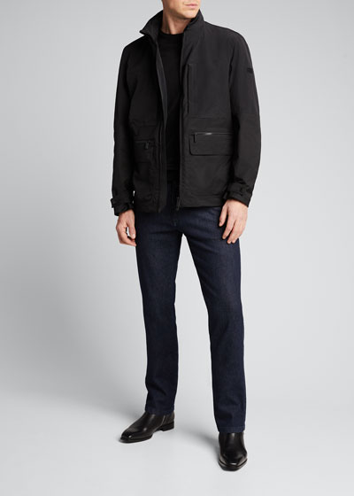 Men's Ultra-Compact Hooded Field Jacket