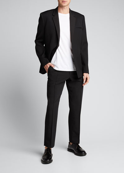 Men's Crushed Suiting Pull-On Pants