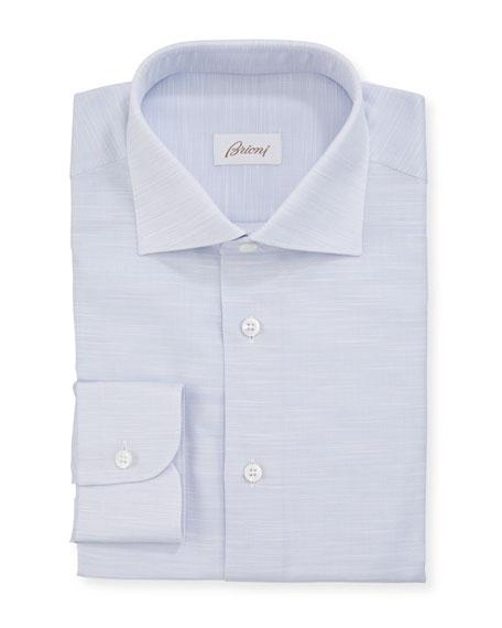 Men's Micro-Tic Cotton Dress Shirt