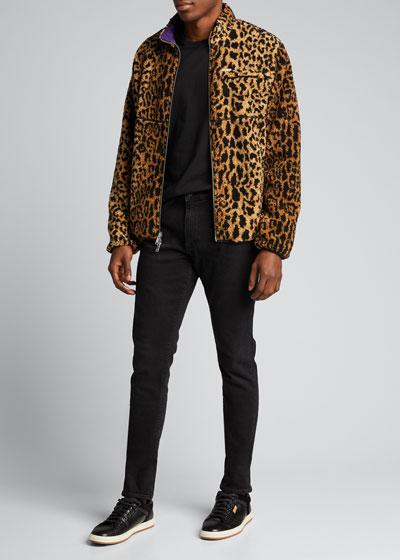 Men's Reversible Zip-Front Jacket