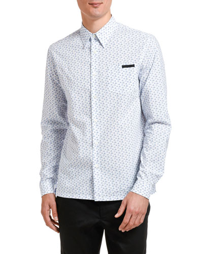 Men's Journey Graphic Pocket Sport Shirt