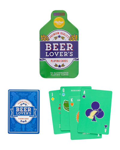 Men's Beer Lover's Playing Cards