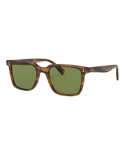 Men's Lachman Square Acetate Sunglasses