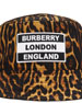 Men's Leopard-Print Logo Bucket Hat