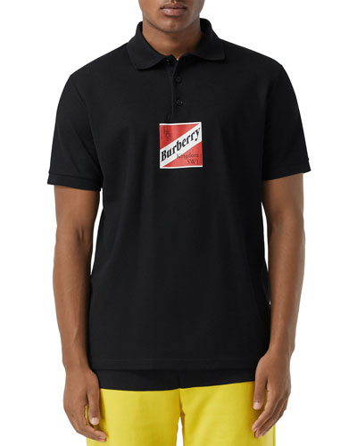 Men's Timmons Graphic Polo Shirt