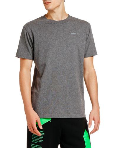 Men's Arrow Logo Graphic Slim T-Shirt