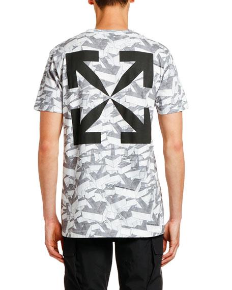 Men's Arrows Patterns Slim T-Shirt