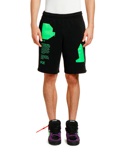 Men's Arch Shapes Unfinished Sweat Shorts