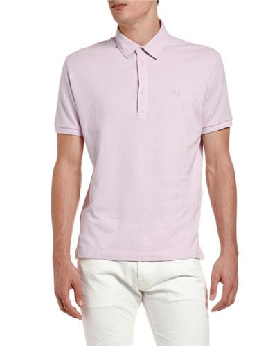 Men's Solid Polo Shirt