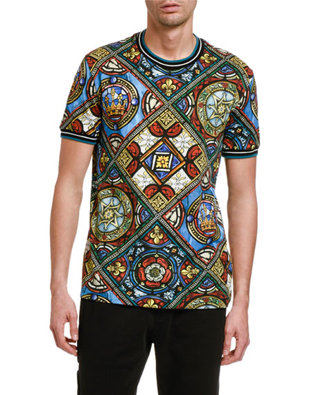 Men's Stained Glass T-Shirt