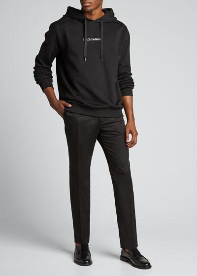 Men's Stretch-Cotton Pants