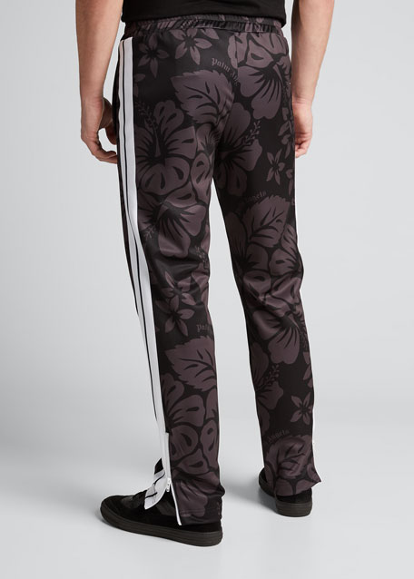 Men's Hawaiian Floral Track Pants