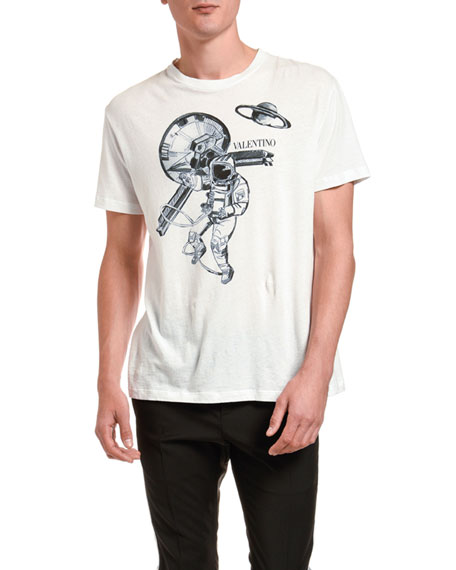 Men's Astronaut Graphic T-Shirt