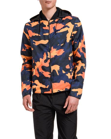 Men's Camo Wind-Resistant Jacket