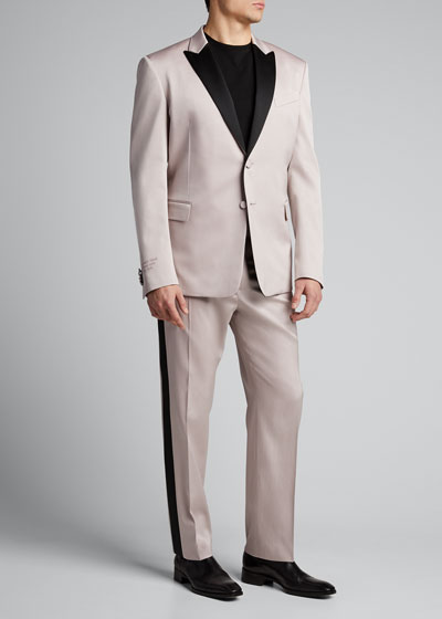 Men's Tuxedo with Contrast Satin Trim