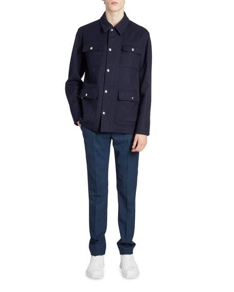 Men's Cashmere Field Jacket
