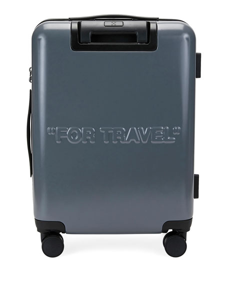 Men's Arrow Trolley Carry-On Suitcase