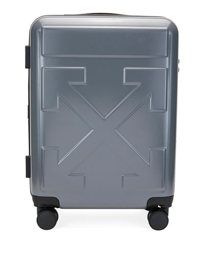 Men's Arrow Trolley Carry-On Suitcase