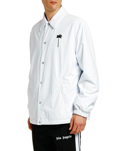 Men's PXP Coach Snap-Front Jacket