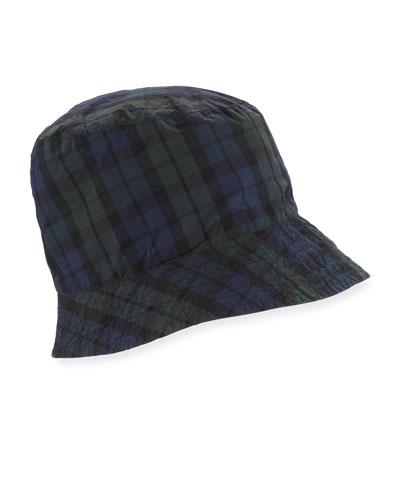 Men's Black Watch Plaid Bucket Hat