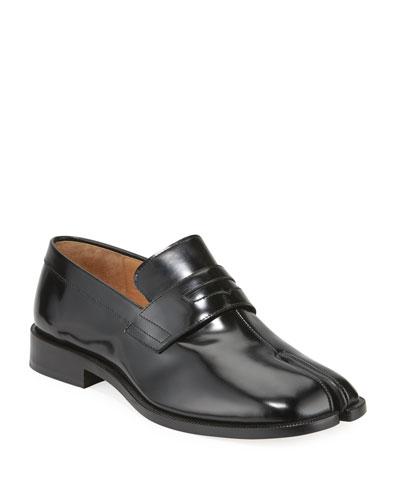 Men's Tabi Advocate Split-Toe Penny Loafers